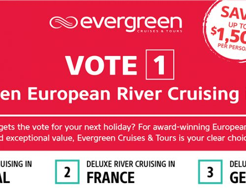 Election Special: Save up to $1,500 on Evergreen European River Cruises