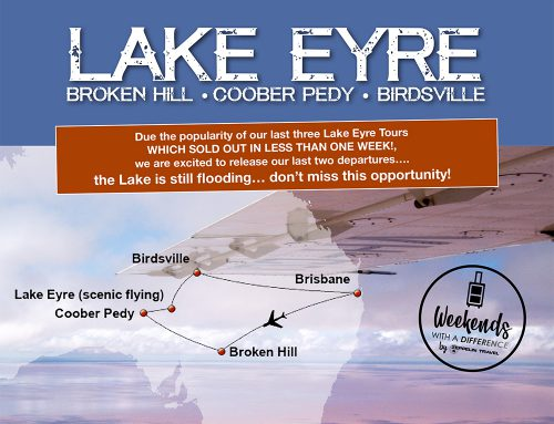 Lake Eyre: A Unique Weekend in the Australian Outback – LAST CHANCE!