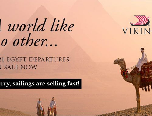 A World like no Other: 2021 Egypt Departures Now on Sale!
