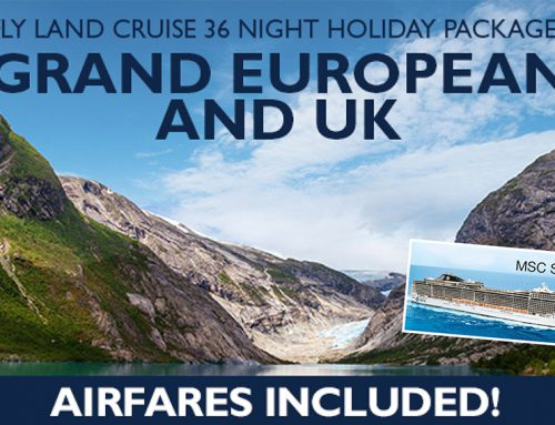 Grand European and UK Holiday Package