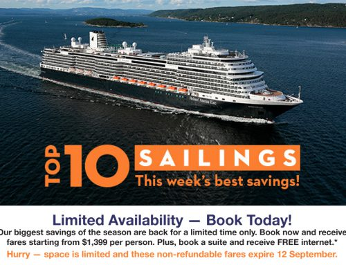Holland America's Top 10 Sailings