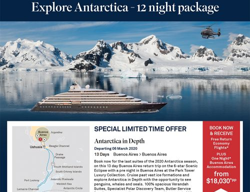 EXCLUSIVE OFFER on Scenic Eclipse Antarctica Cruising