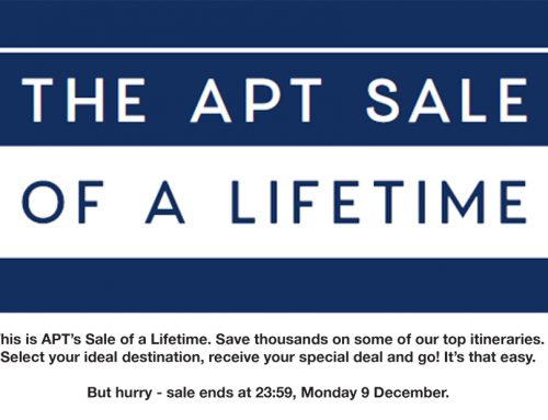 The APT Sale of a Lifetime