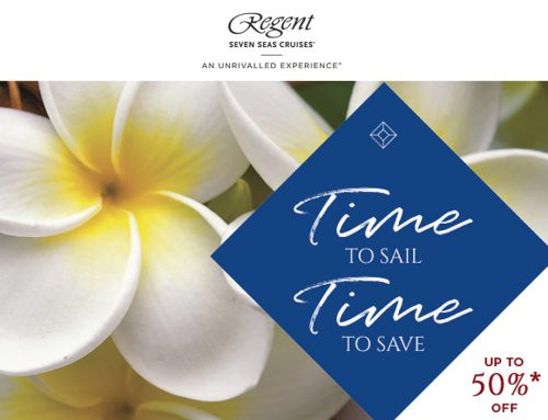 Save up to 50% on Luxury Cruising with Regent