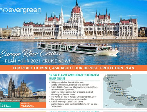 Europe River Cruising in 2021