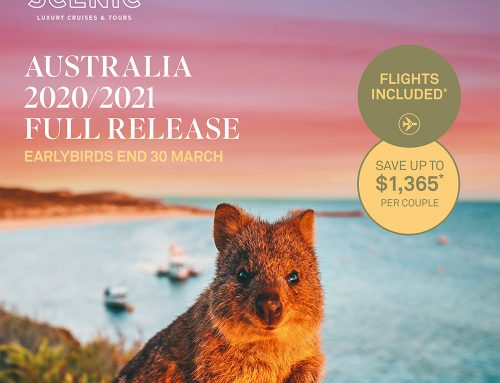 Book your Dream Australian Experience with Scenic