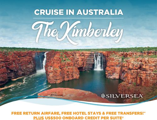 The Kimberley with Silversea