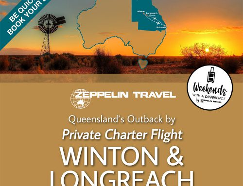 Outback QLD by Private Charter Flight: Winton & Longreach