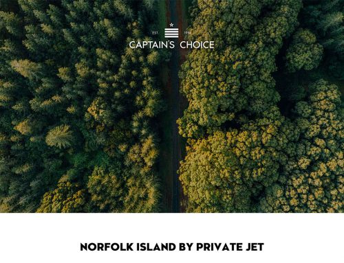 Norfolk Island by Private Jet
