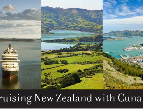 Cruising New Zealand with Cunard