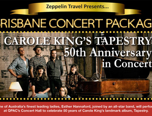 Carole King's Tapestry 50th Anniversary: Brisbane Concert Package