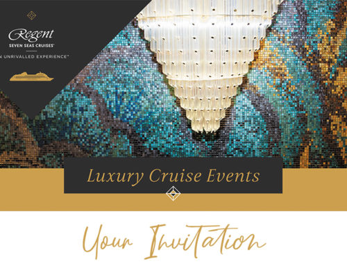Your Invitation: Regent Luxury Cruise Event