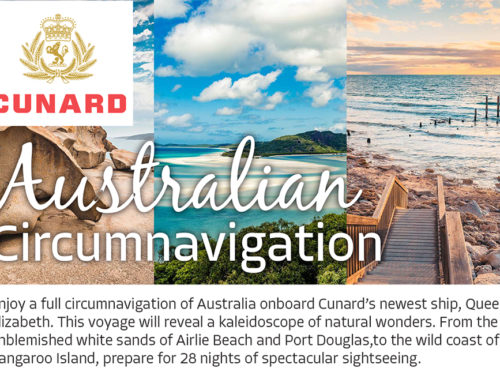Australian Circumnavigation with Cunard