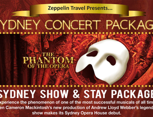 Phantom of the Opera – Sydney Show and Stay Package