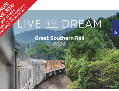 APT Great Southern Rail with South Australia Flinders Ranges & Wineries